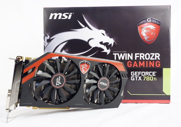The MSI GeForce GTX 780Ti Gaming 3G card boasts of an excellent cooling system, coupled with quality VRM components of Military Class IV. Overall, it's a great card, but not really a standout.