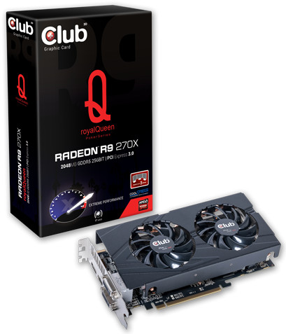 Club 3D Introduces Two R9 270X Pokerseries Cards - HardwareZone com sg