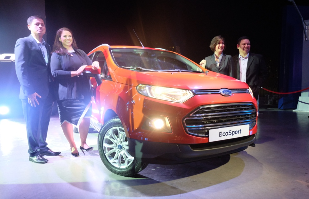 The All-New Ford EcoSport was officially unveiled last January 30, 2014 at Circuit Makati.
