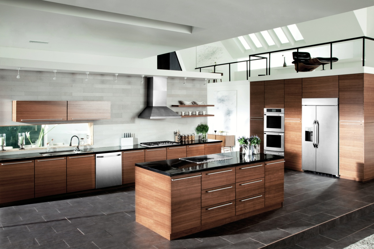 Curved Kitchen Island Designs Lg Impresses With Home Appliance Innovations At Ces 2014