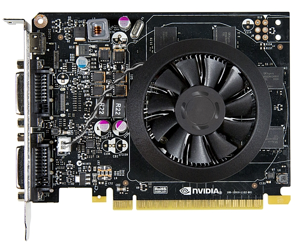 The NVIDIA GeForce GTX 750 Ti boasts of a GM107 core, with a base clock speed of 1020MHz, and a boost clock of 1085MHz.