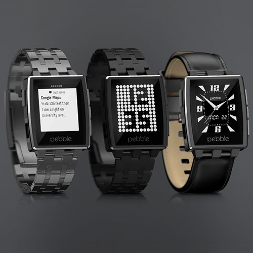 The world's loved smart watch, the Pebble, is now made of forged and CNC-machined stainless steel. The Pebble Steel will set you back US$249.