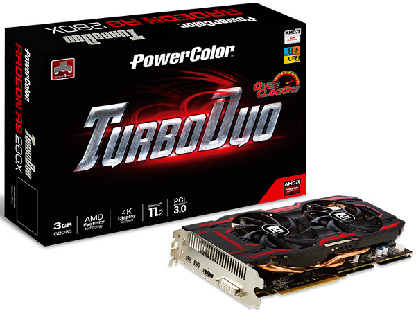 PowerColor TurboDuo R9 280X 3GB GDDR5 Overclocked