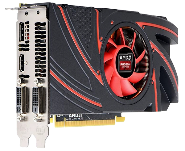 The AMD R7 265 GPU. (Image Source: AMD)