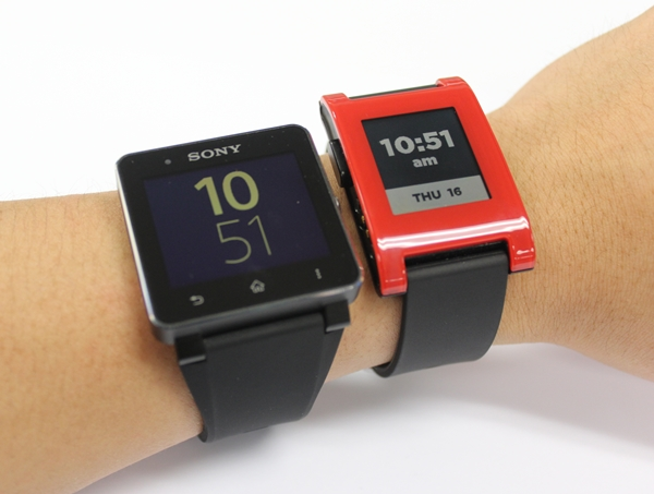 The Sony Smart Watch 2 is one of the better choices in the market, but it is at risk of being taken over by upcoming offerings from other brands this year. <br> Image source: Sony