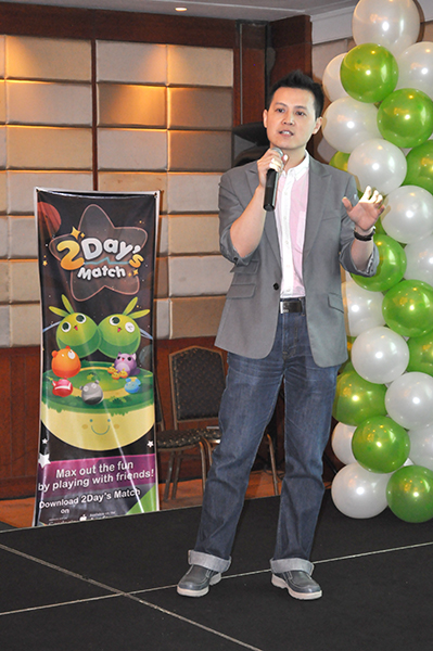 Steve Zheng, Business Development Manager of WeChat, proudly announced that WeChat is the most-searched social messaging app according to Google Trends in the Philippines.