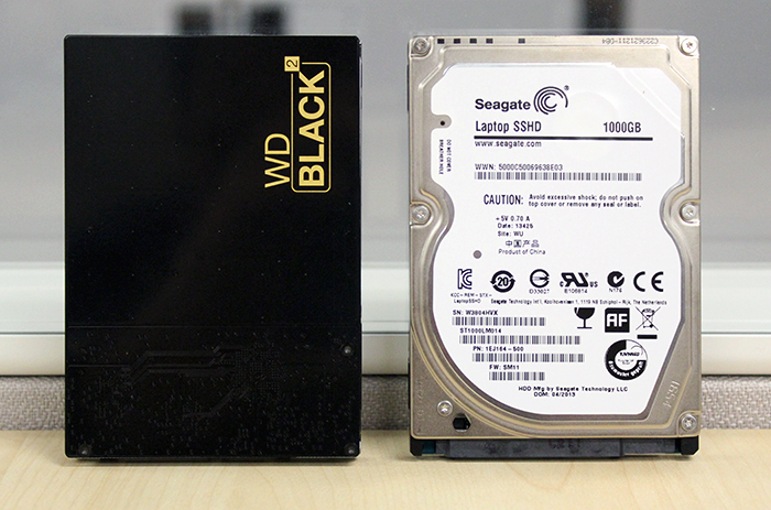 Is WD Black2's dual drive solution superior to a hybrid hard disk drive? Let's find out.