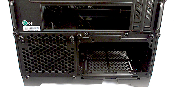 Installation involves a lot of thumbscrews. Securing the HDD and PSU backplates alone are six of them.