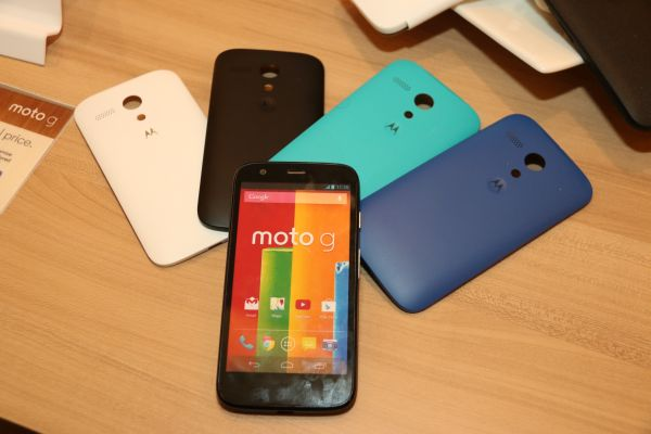 Owners of the Moto G will be given a Motorola Shell cover and a screen protector upon purchase.