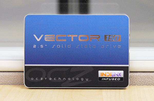 The Vector 150 is equipped with OCZ's own Indilinx Barefoot 3 controller.