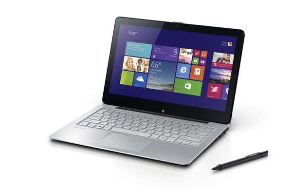This Vaio Fit 11A announced during CES will be one of the last notebooks from Sony.
