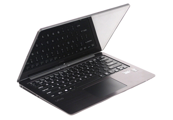 The Sony Vaio Fit 13A is Sony's second convertible 13-inch Ultrabook, and comes with a multi-touch display, and an N-Trig digitiser.
