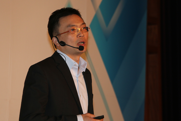 Vic Shu, CEO of Synology Inc., opened his keynote by announcing that the DSM 5.0 unveiling today represents the 12th DSM beta launch event for Synology.