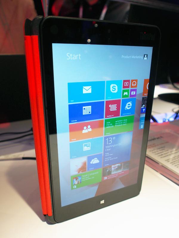 Lenovo ThinkPad 8 Tablet Means Business - HardwareZone com my