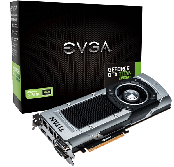 The EVGA GeForce GTX Titan Black (NE5XTIB010JB-P2083F). (Image Source: EVGA)