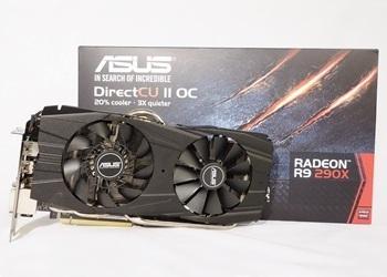 ASUS Radeon R9 290X DirectCU II OC 4GB GDDR5
