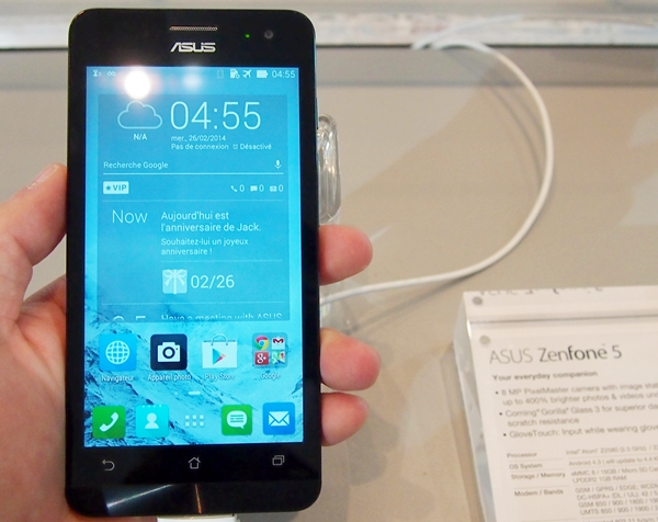 This is the ZenFone 5 with similar design traits as the rest of the family.