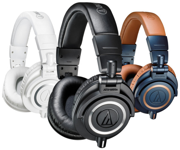 ATH-M50x. (Image source: Audio Technica.)