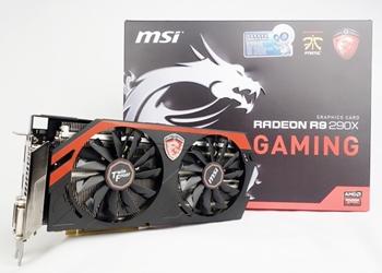 MSI Radeon R9 290X Gaming 4G 4GB GDDR5