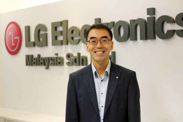 LG Malaysia's new Managing Director, David Oh.