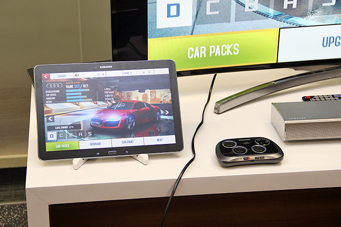 You can also hook up the Note Pro to a TV, and get a Samsung GamePad for some serious big-screen gaming.