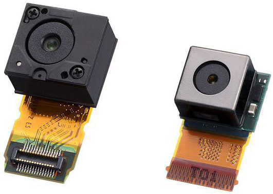 Sony Exmor RS camera modules.