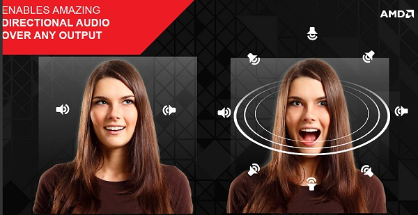 AMD TrueAudio Technology is able to bring gamers accurate real-time interactive positional audio and with more real-time voices and channels in-game. (Image Source: AMD)