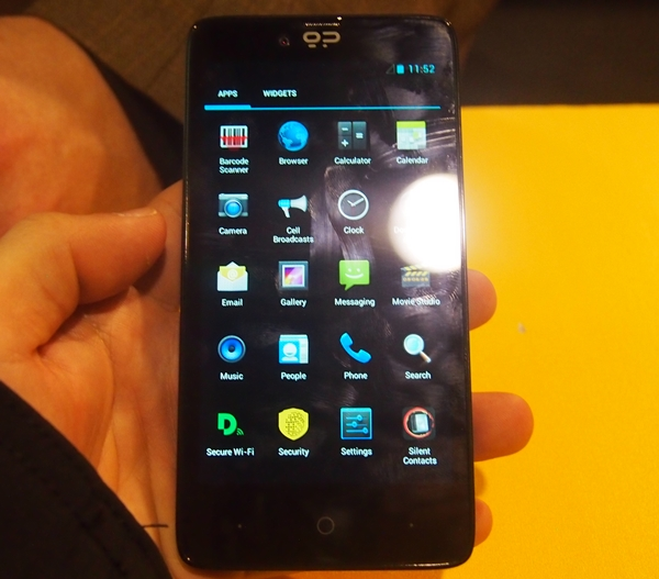 The Blackphone runs runs on PrivatOS which is based on the Android 4.2.2 platform.