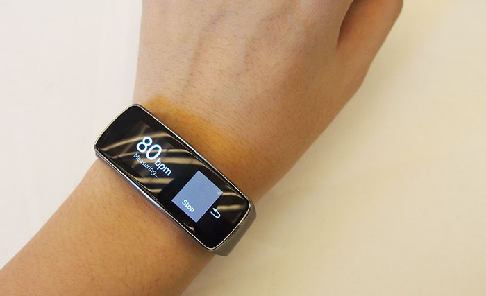 A heart rate monitor lets you measure your pulse during exercise or when resting.