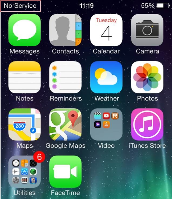 no service on new iphone m1 customers reported no service signal problems sending 17866