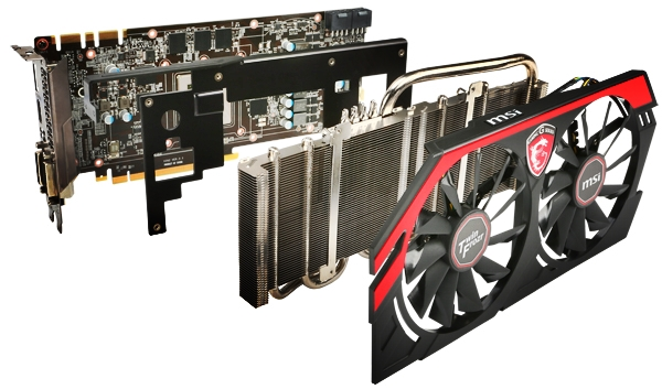 The Twin Froze IV cooling system. (Image Source: MSI)
