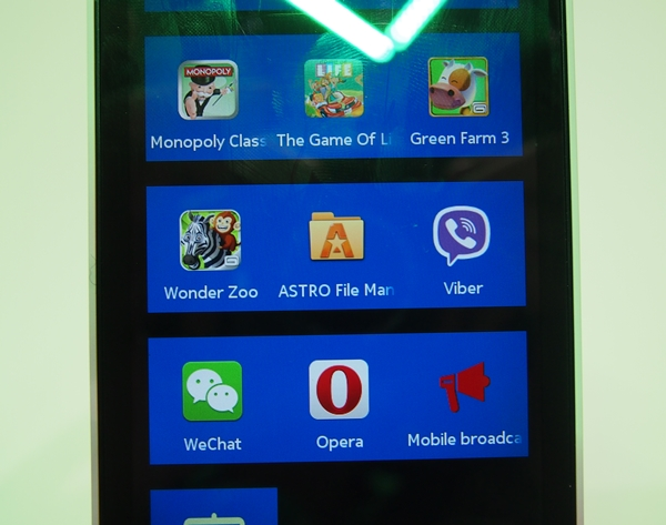 The Nokia X smartphones can run Android apps to some extent.