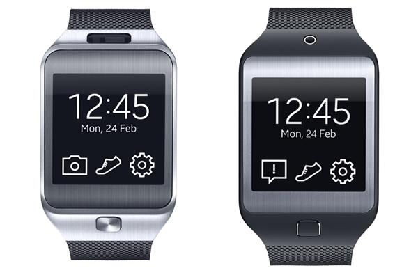 Left: Samsung Gear 2. Right: Samsung Gear 2 Neo. <br>Image source: Samsung