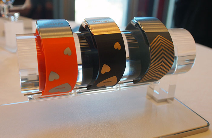 Samsung is also playing into this by releasing a number of custom straps that will fit both watches.