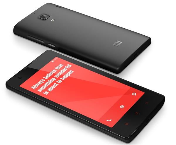The Xiaomi Redmi is only available in deep grey at launch. <br>Image source: Xiaomi