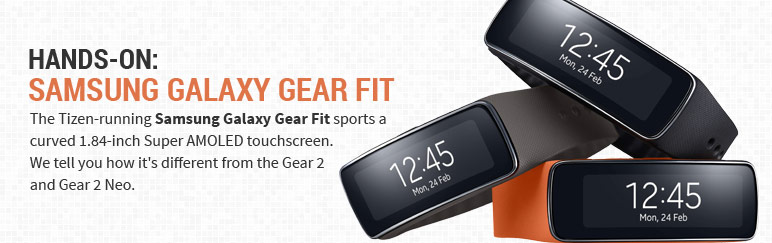 Hands-on: Samsung Galaxy Gear Fit