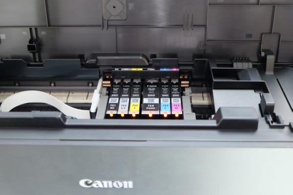 The PIXMA iP8770 uses six ink cartridges, including a gray ink cartridge, for the best photo print quality.