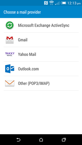 Blue is allocated for productivity related tasks like email.