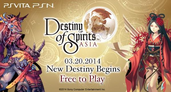 Vita-Exclusive Destiny of Spirits: Asia Now Available on PSN