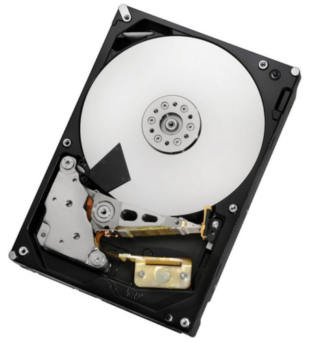 HGST's 6TB Helium HDD. (Image source: HGST)