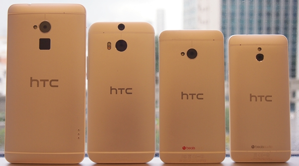 The back view of the phones in the same order as above.