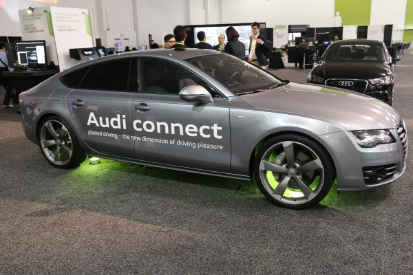 This self-driving car is the culmination of all the three pieces of NVIDIA-based technology.