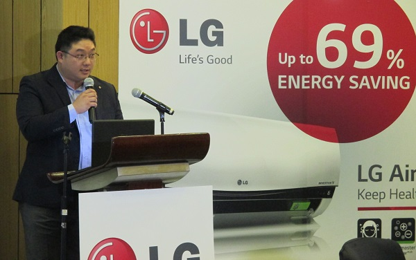 Ted Han, Vice President of LG Electronics Philippines Air Conditioning and Energy Solutions Group.