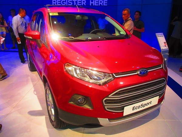 Ford EcoSport 1.5L Trend M/T – PhP 825,000