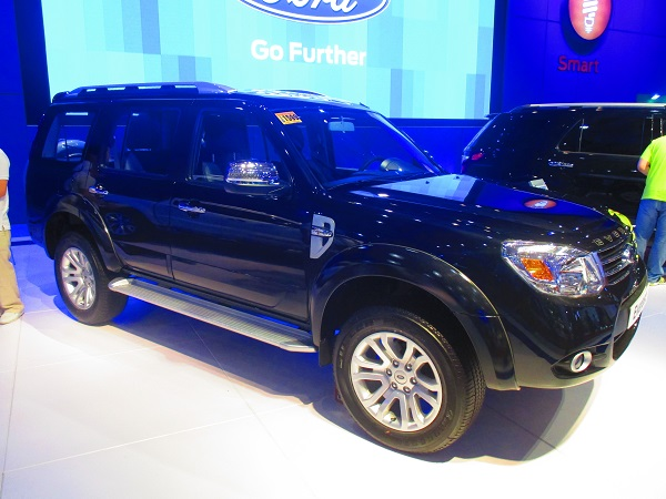 Ford Everest 2.5L 4x2 Limited AT – PhP 1,490,000