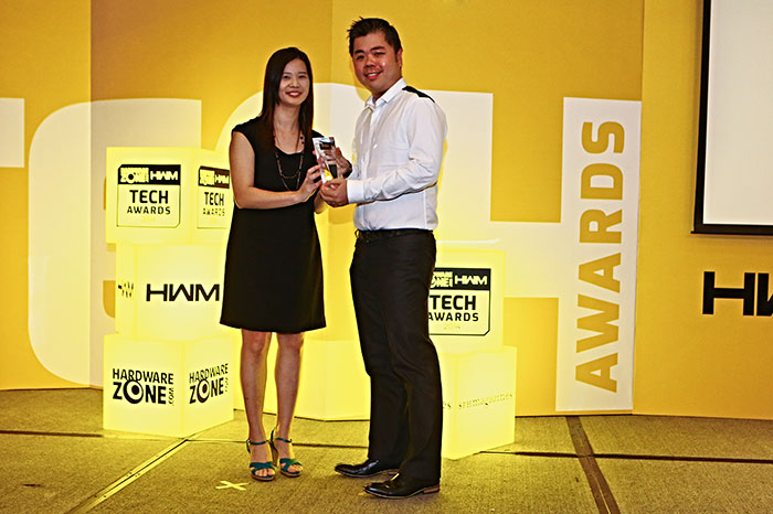 Intel walked home with three awards, including Readers' Choice for Best CPU Brand and Editor's Choice for Best Desktop CPU (Intel Core i7-4770K). The company's 4th-gen Core processors also won an Innovation award. Mr. Jonathan Ong, Intel's National Sales Manager, was present to receive the awards.