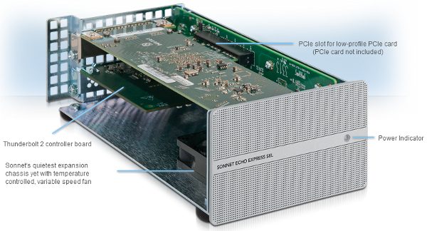 Sonnet Announces Its Quietest and Most Compact Thunderbolt 2-to-PCIe