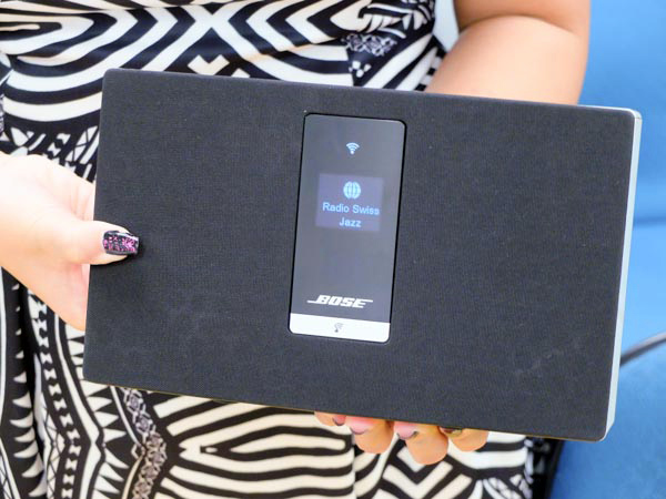 The smallest of them, the SoundTouch Portable, is compact enough to to be hand-held. It weighs about 1.45kg.