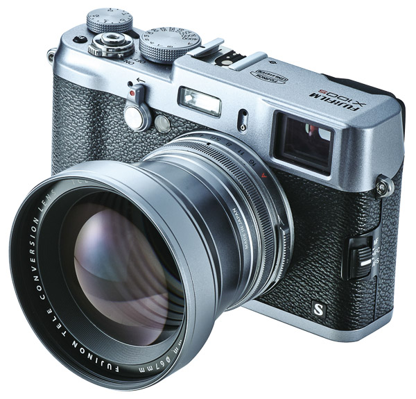 The new TCL-X100 lens offers a 50mm view point (35mm equivalent).