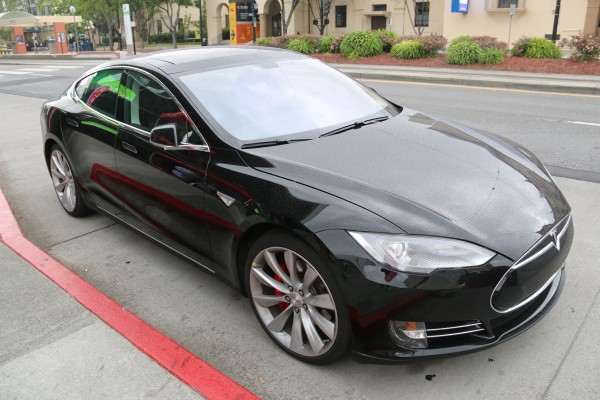 Tesla is one of the electric car companies in partnership with NVIDIA.